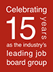Celebrating 13 years as the industry's leading job board