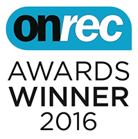 onrec winner 2016 logo